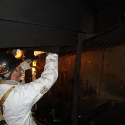 Removing existing vapor horn
