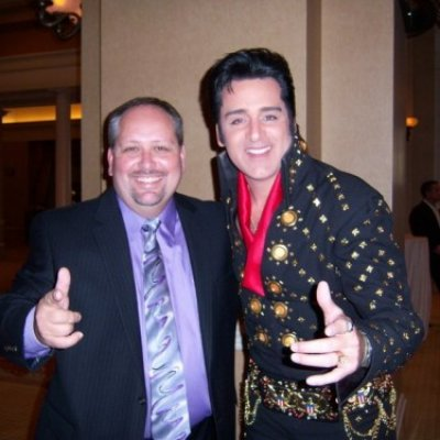 Rich & Elvis at the Convention Banquet